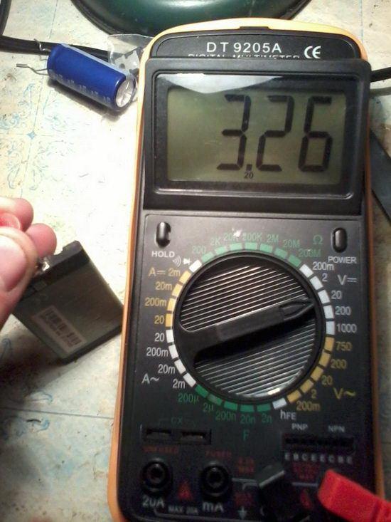 Измеряем постоянное напряжение