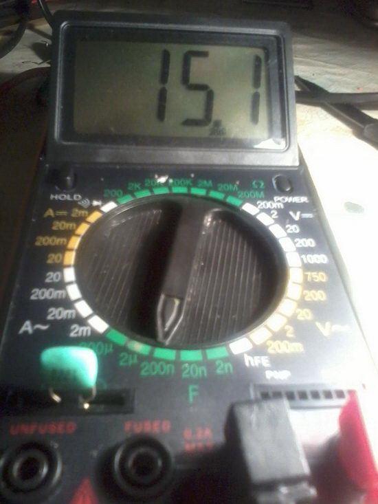 Измеряем емкость конденсатора