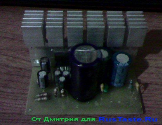 Усилитель на TDA2004 от Дмитрия