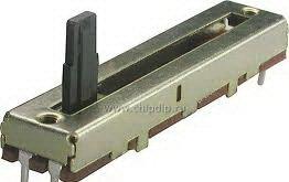 Ползунковый переменный резистор