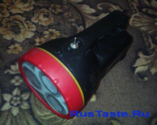 Переделанный фонарик