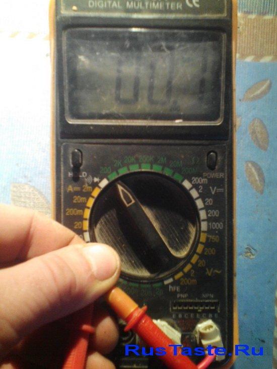 Самодельные щупы для мультиметра. Сопротивление 0.1Ом