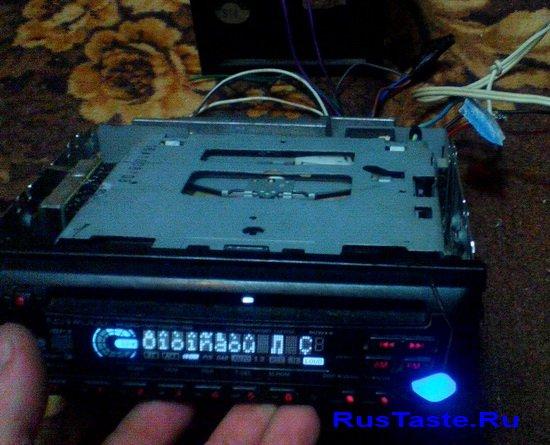 Магнитофон KENWOOD KDC-M4524 на проверке