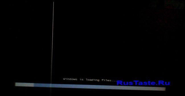 Запуск Установки Windows 7