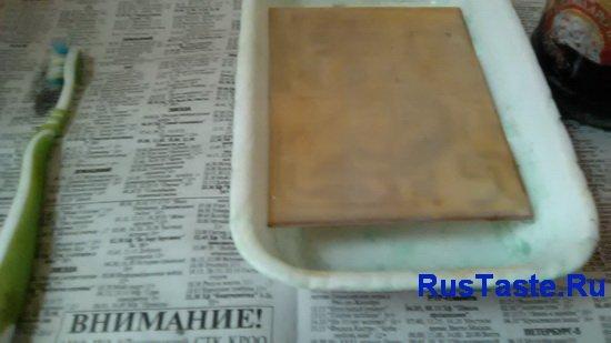 Печатка в ванной