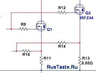 Усиление параллельными транзисторами