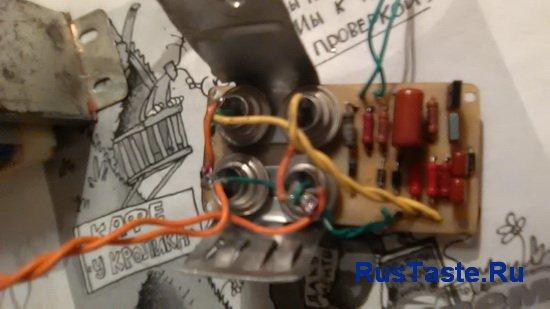 Собранное на плате тиристорное зарядное устройство на двух тиристорах vol.2