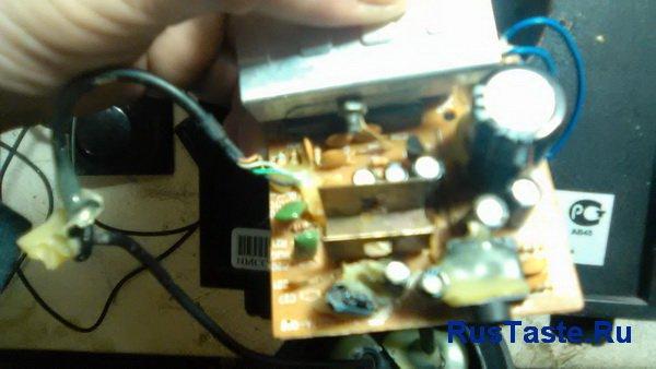 Установил микросхему CD8227GP и радиатор