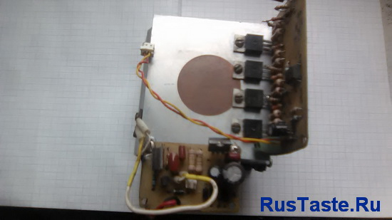 Датчика температуры на радиаторе