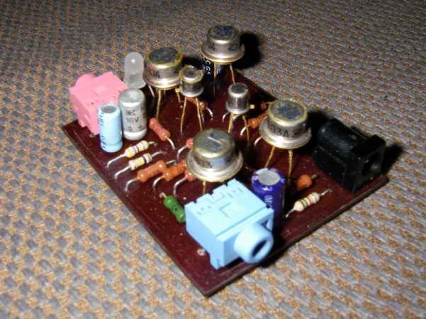 Усилители для наушников на транзисторах