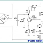 Тиристорное импульсное зарядное устройство 10А на КУ202