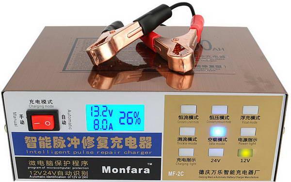 Универсальное зарядное устройство 12-24В 10А