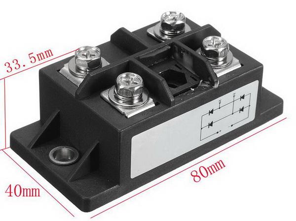 150A AMP 1600 В MDQ150A однофазный диодный мост
