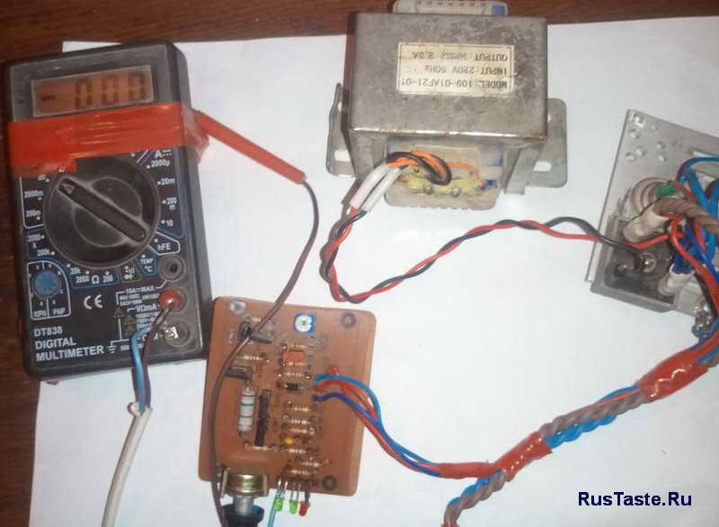 Зарядное для автомобильного аккумулятора. Первые испытания