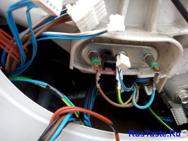 Проверка датчика температуры в стиральной машине