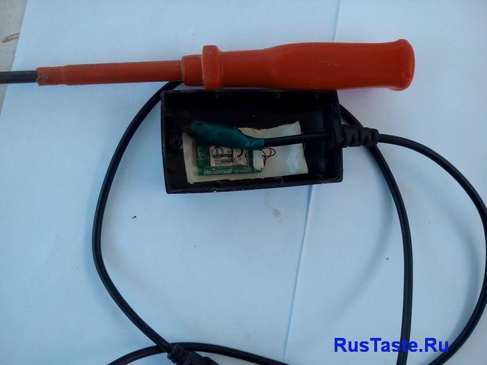 Установка модуля блютуз в корпус от зарядки