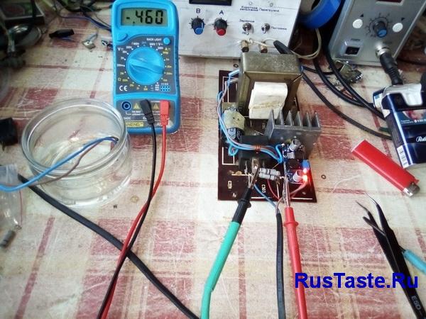 Установка токового шунта для амперметра