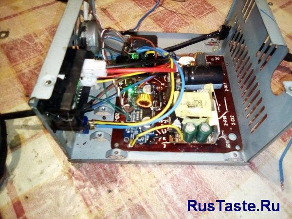 Зарядное устройство XL4015 вид сбоку