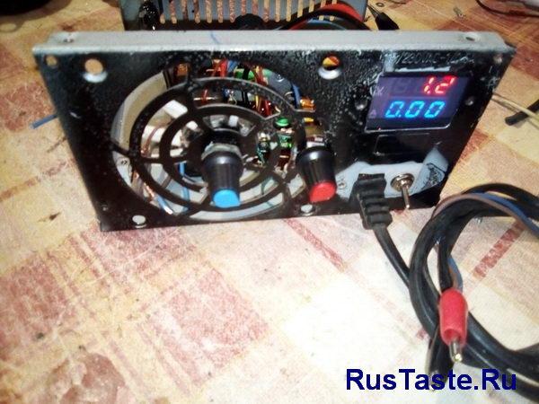 Зарядное устройство XL4015. Минимальное напряжение