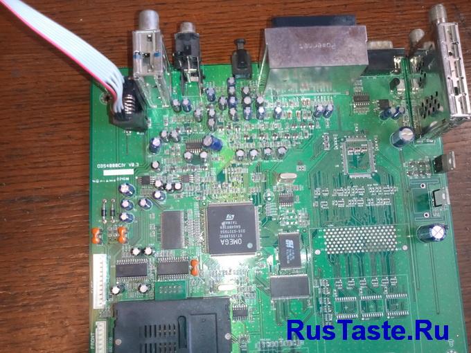 Прошивка тюнера программатором CH341A