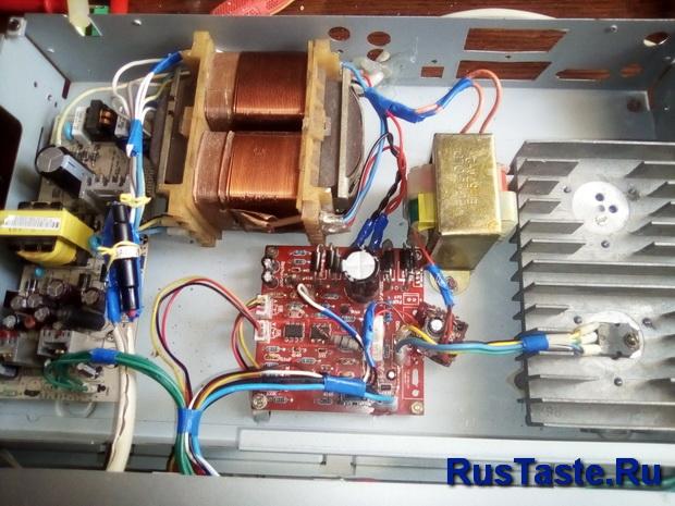 Установка дополнительного трансформатора для Ампер-Вольтметра
