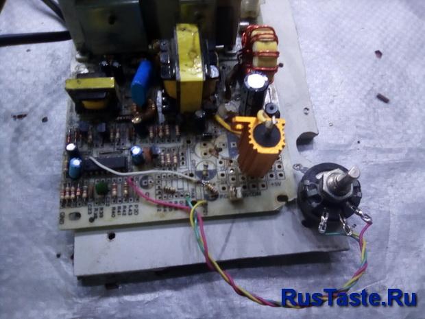 Добавил регулятор тока