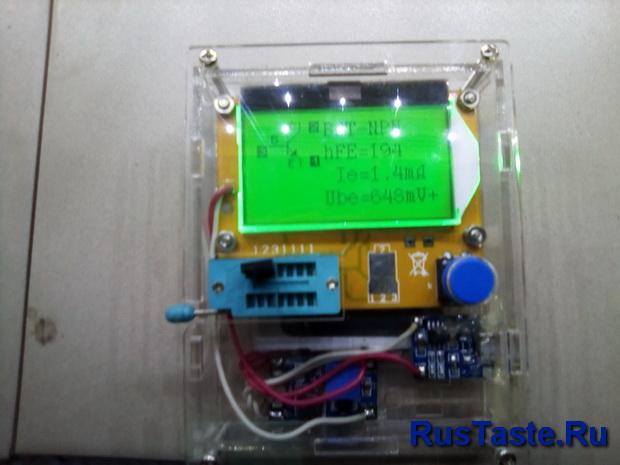 Проверка транзисторов прибором ESR-T4