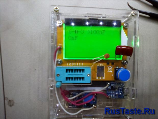 Установка конденсатора более 100нФ