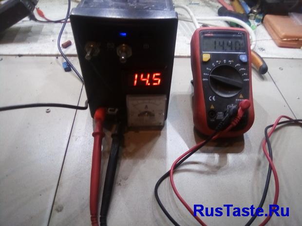 Напряжение для зарядки кислотного аккумулятора