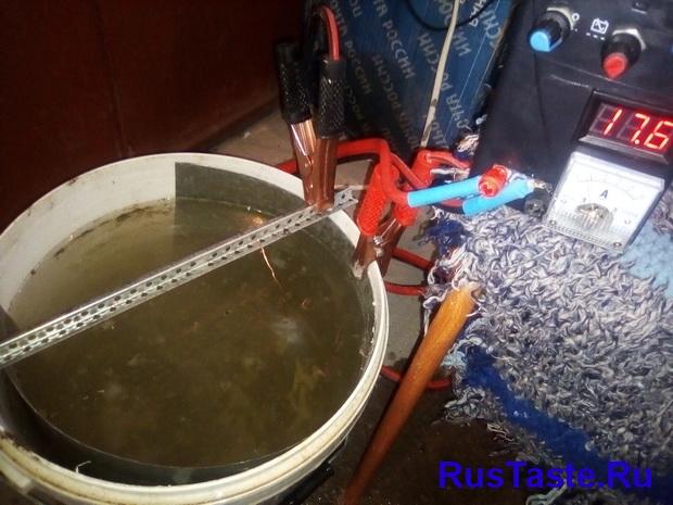 Проверка проводимости воды