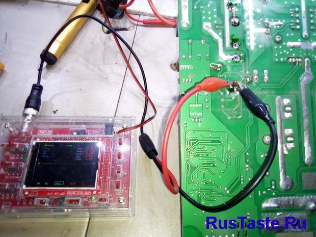 Нет импульсов на транзисторе