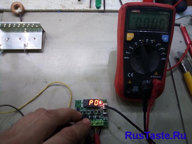Настройка терморегулятора для теплицы