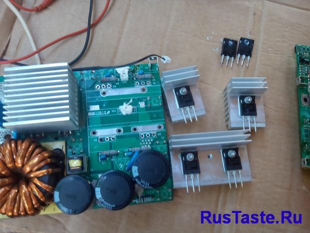 Замена транзисторов на FGH60N60SFD