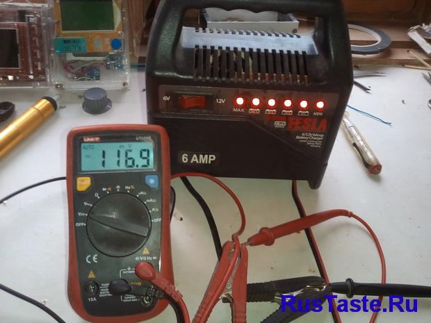 Зарядка ЗУ-15860. Нет напряжения на выходе