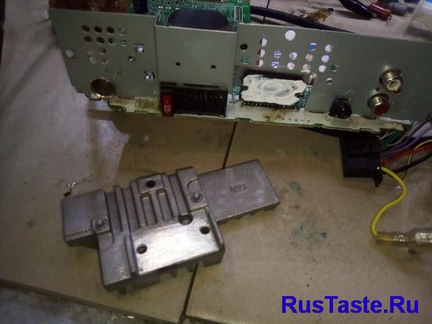Замена усилителя PAL011A на TDA7388
