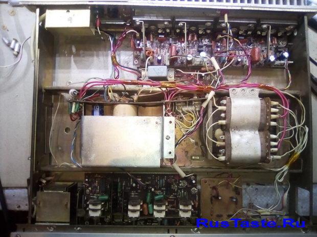 Восстановление и доработка усилителя Радиотехника У-101
