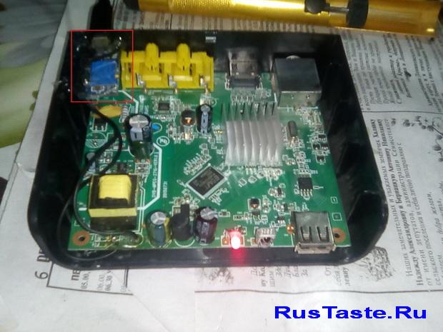 Питание приставки Т2 от USB
