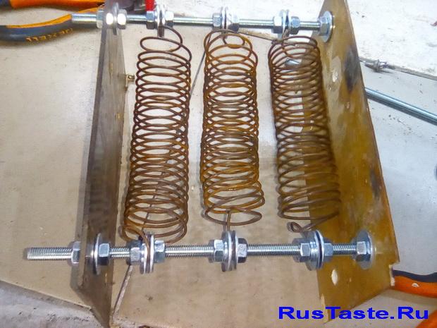 Нагрузочный резистор из проволоки первый вариант