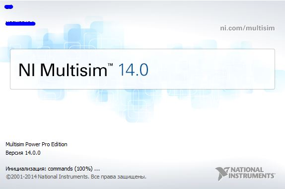 Multisim от National Instruments