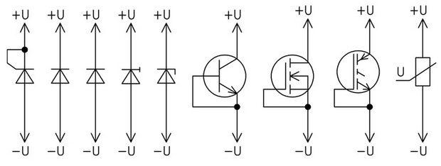 Примеры подключения проводников для проверки