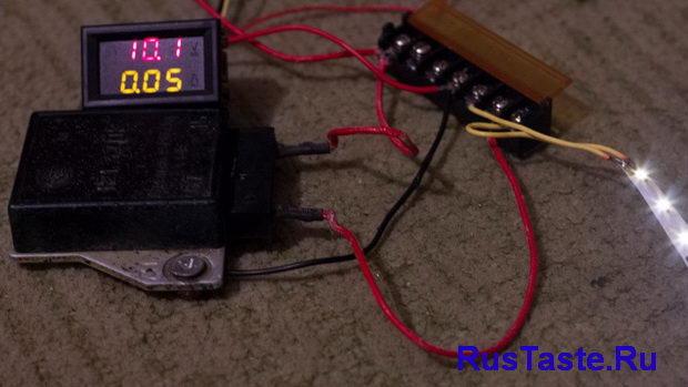 Проверка реле регулятора при 10,1В