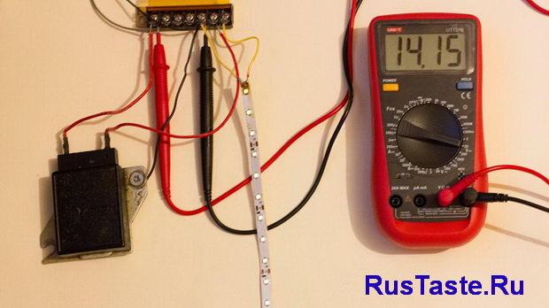 Проверка реле регулятора при 14,15В