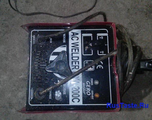 Сварка переменного тока до переделки